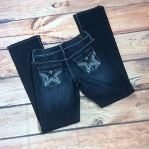 People's Liberation Slim Bootcut Jeans Size 3/4